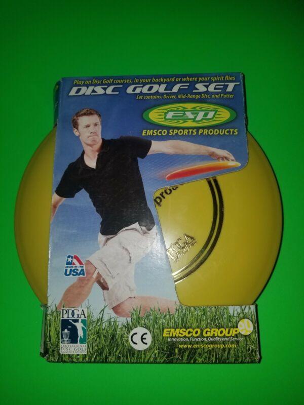 ESP Disc Golf Set - 3 Disc Set - PDGA Tournament Certified (30)
