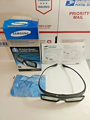 Samsung 3D Glasses SSG-3050GB Lunettes Actives Movies Smart TV