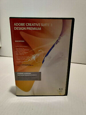 Adobe Creative Suite 3 Design Premium - Student Licensing Edition for Mac 5 disc