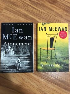 Amsterdam and Atonement by Ian McEwan