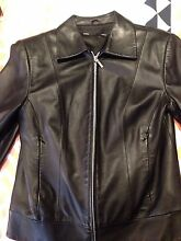 Women's Genuine black leather jacket Roselands Canterbury Area Preview