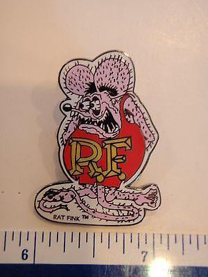"PINK RAT FINK  NOVELTY HAT PIN  LAPEL PIN  ED ""BIG DADDY""  ROTH"