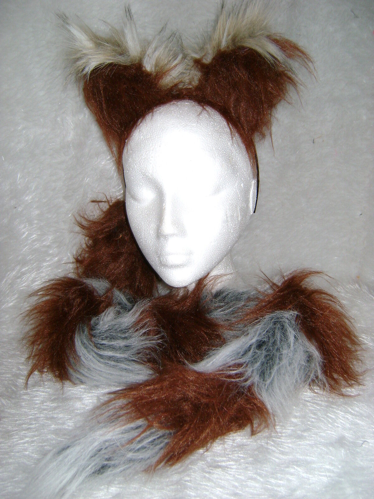 """Lion Tail Soft Gold Animal Tail Fur Long 28/"""" Clip On Tail One Size Fancy Dress"""