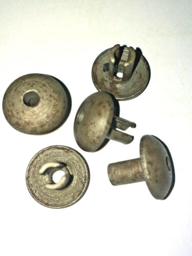WWII Italian M33 Helmet RIVETS AIR VENTS AIR-VENTS Type 1 (Set of 3) Repro