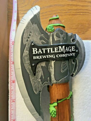Beer Tap Battle Mage Brewing Axe Handle Brand New in Original Box