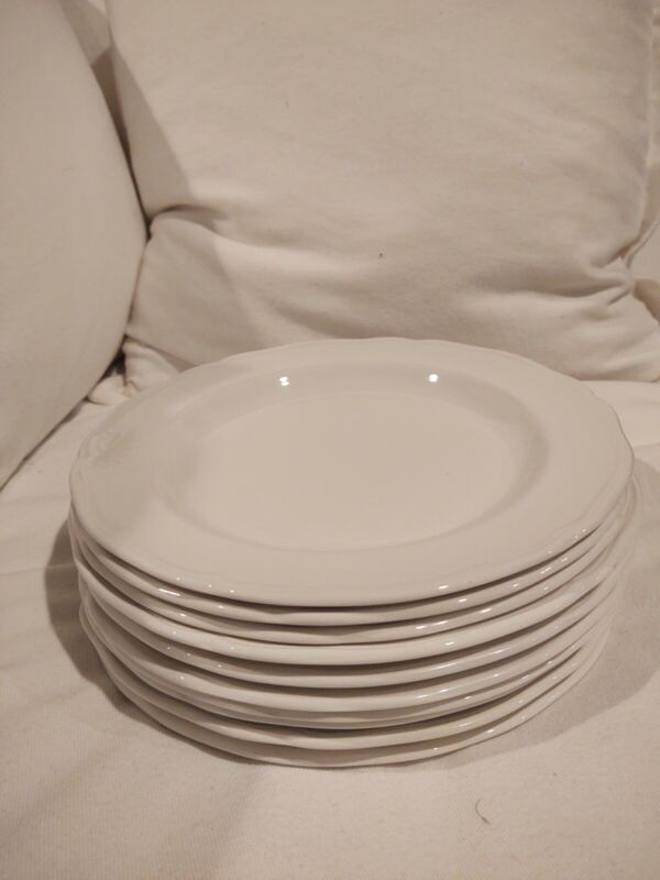 Royal Staffordshire Heirloom J..G. Meakin Set 10 Dinner Plates