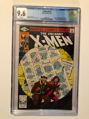 UNCANNY X-MEN 1981 #141 CGC 9.6 NM+ 1ST APPEARANCE RACHEL SUMMERS PHOENIX II for sale  Shipping to Canada