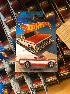 Hot Wheels Walmart Sam Walton 1979 Ford F-150 Truck NEW Metal Metal Real Riders