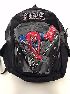 Awesome Kids Backpacks (MARVEL The Amazing Spiderman Childs Backpack from 2009 Rare Marvel)