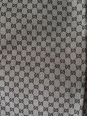 Vintage Gucci Style Yard of Fabric