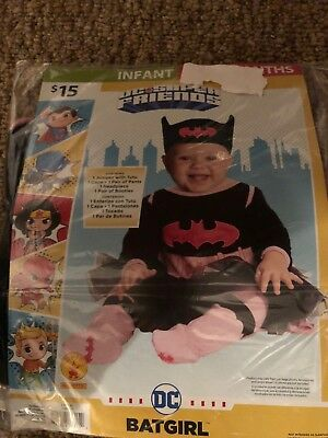 Halloween Costume Infant Batgirl  0-6 months or 6 -12 months, 12 - 18