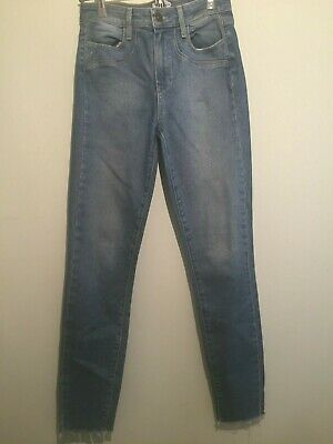 "PAIGE Hoxton Ankle   Women's Straight Slim Denim Jeans 26 x 28"""