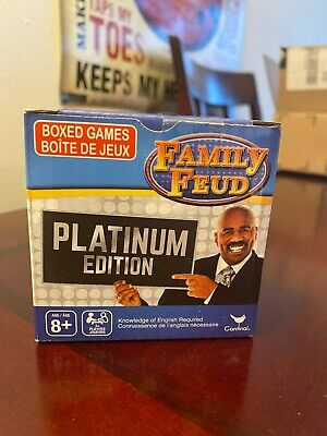 Family Trivia Games (Family Feud Platinum Edition Trivia Box Card Game. BRAND NEW!)