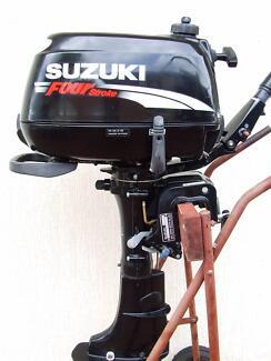 Suzuki DF4hp Four Stroke Cleveland Redland Area Preview