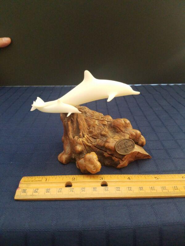 John perry dolphin sculpture