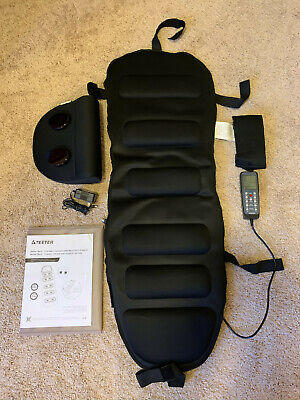 GENUINE Teeter Better Back Vibration Massage Cushion With Neck Arch (Best Teeter Hang Ups Inversion Table)