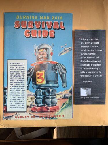 Burning Man 2018 I, Robot Survival Guide - $5.00