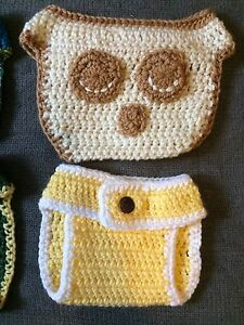 Crochet diaper covers