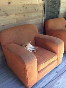 Club arm chairs x 2 Dirty Creek Coffs Harbour Area Preview