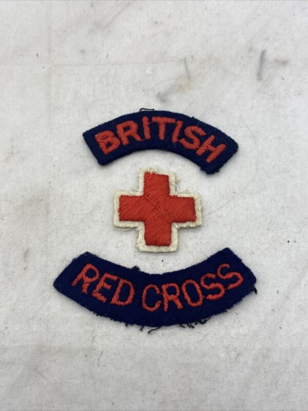British Red Cross Patch Set (I744