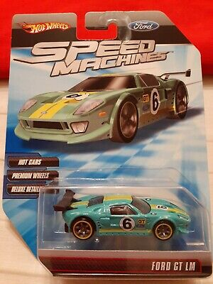 HOT WHEELS SPEED MACHINES FORD GT LM teal 2009