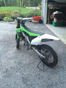 Kawasaki 2014 Kx 250f mint condition!  Peterborough Peterborough Area image 4