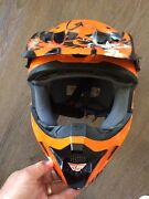 Motorcycle / Motorcross / Scooter Helmet - Fly Racing Woodlands Stirling Area Preview