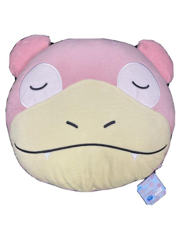 Pokemon Face Cushion ~33cm Plush - Slowpoke (Banpresto)