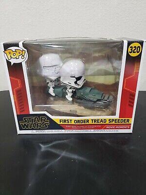 Funko Pop! Star Wars FIRST ORDER TREAD SPEEDER MOVIE MOMENTS #320