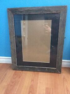 Various picture frames hand made