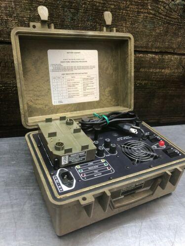 Bren-Tronics BTC-UN110 PP-8444A/U Battery Charger W/ J-6358A/P BTA-70834 Adapter