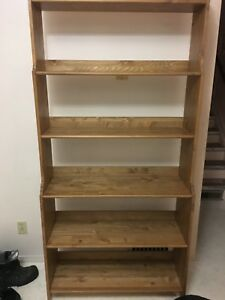 Looking for solid wood shelves