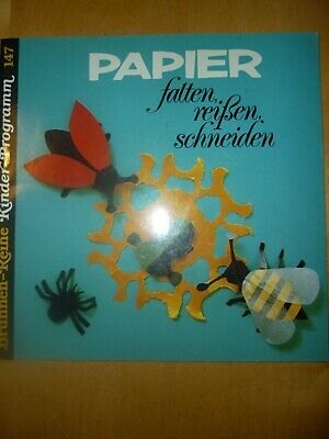 en,schneiden  Brunnen Reihe Kinder Programm 147 (Programm Papier)