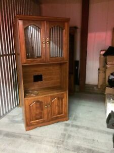 Oak Wall Unit  3 pcs.