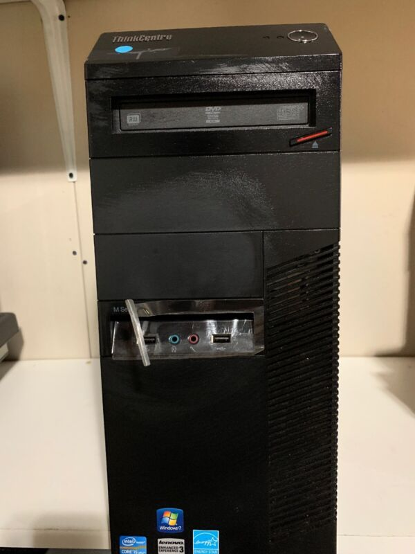 Lenovo ThinkCentre M92p 1G7 Tower Core i5-3570 3.40GHZ 8GB 250 GB HDD Linux Wifi