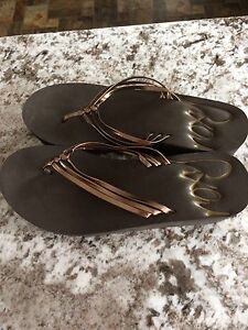 Brown Roxy and Black Guess Sandals-Brand New Size 7