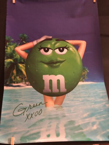 Miss Green M&M Mars poster 2001