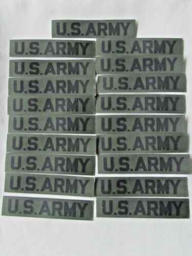 VIETNAM WAR 1966-75 US ARMY NYLON SUBDUED TAPES - NOS - MINT COND. NINETEEN (19)