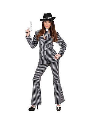 Kostüm Gangster Lady Karneval - Lady Gangster