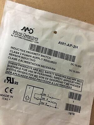 New Sealed Diell Am1-ap-2h Proximity Sens Switch Pnp No 10-30vdc