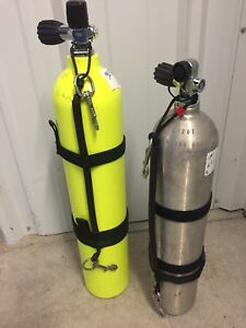 """SCUBA"" STAGE BOTTLES 30cu.ft/40cu.ft TANKS!"