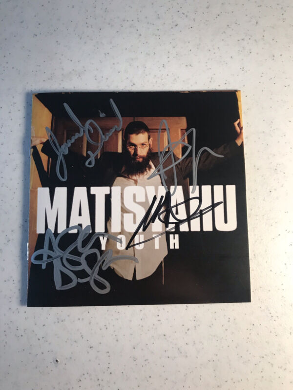 Matisyahu: Youth / Autographed CD / Four Member Signatures