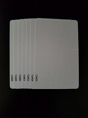 100 Keycards Proximity Prox Card- Works With Hid 1326 1386 26-bit H10301