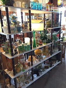 Pyrex, Jadeite, credenza, swag lamp,  records/vinyl and more!