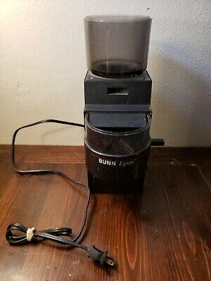 Bunn Espress Eg-500 Automatic Espresso Coffee Grinder 120v 23910-0000 Read