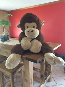Big stuffed monkey