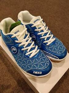 Badminton Shoes Professional Model Nexo 1.0 Blue White Protech Canberra City North Canberra Preview