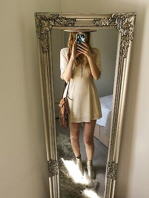Kiss The Sky BNWT 10 Short Embroidered Dress BOHO hippie free people spell style