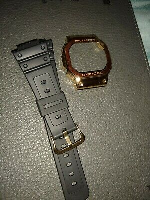 G-Shock Gold Bezel and Strap DW-5600E GWX-5600 GB-5600 DW-5000 & GW-5000 models