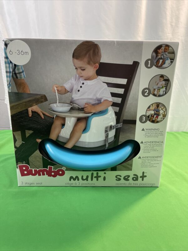 Bumbo Baby Three Stages Multi Seat with Tray Blue